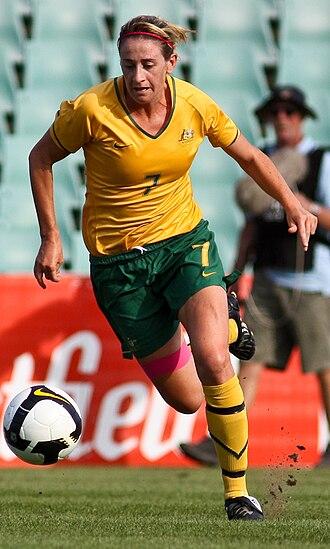 Heather Garriock - Garriock playing for Australia