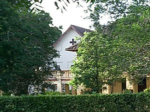 Madras Christian College - A view of Heber Chapel from the outdoor stage