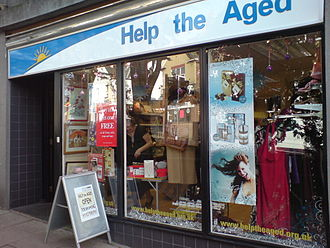 Help the Aged - Help the Aged charity shop
