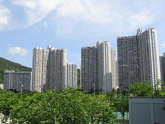 Public housing estates in Ma On Shan - Heng On Estate