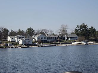 The Archipelago - Henry's Fish and Chips, on Frying Pan Island, Sans Souci, Ontario.