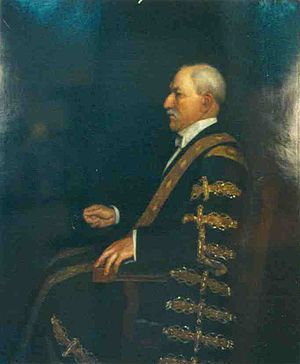 Normand MacLaurin - Sir Henry Normand MacLaurin, Chancellor of the University of Sydney.