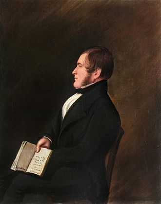 Niger expedition of 1841 - Henry Dundas Trotter, portrait around 1833.