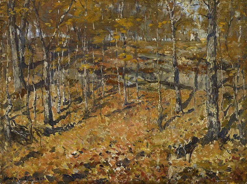 File:Henry Ward Ranger - Autumn woods (1908).jpg