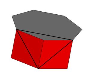 Heptagonal prism - Image: Heptagonal prism vertfig