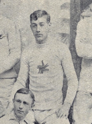Herbert Russell - Herbert Y. Russell in the 1892 Ottawa Hockey Club photo