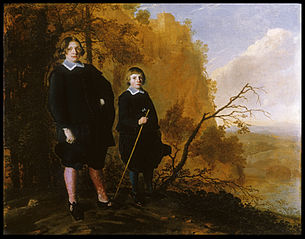 Two Boys in a Landscape