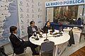 Hernán Brienza entrevistó a Rdolfo Hamawi y Augusto Costas en Radio Nacional (14207029164).jpg