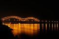 Hernando DeSoto Bridge at night.jpg