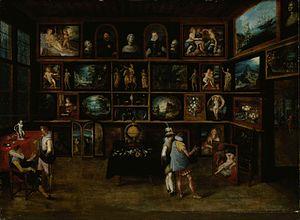 Sinebrychoff Art Museum - Image: Hieronymus Francken (II) Connoisseurs at a Gallery
