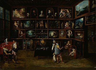 Sinebrychoff Art Museum - Image: Hieronymus Francken (II) Connoisseurs at a Gallery