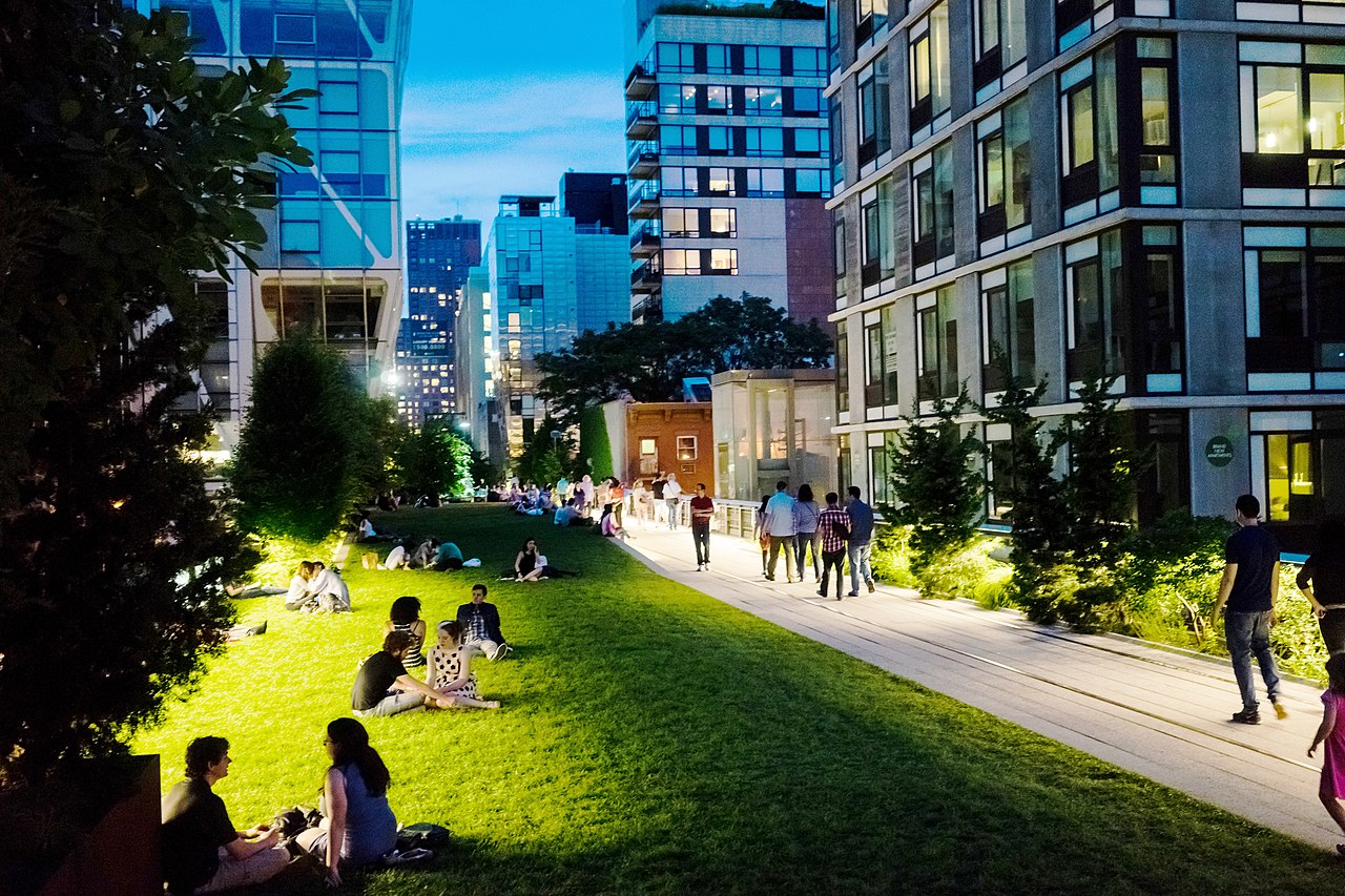 File:High Line Park, Section 2, night lawn.jpg - Wikimedia ...