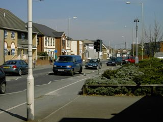 Houghton Regis a town in Central Bedfordshire, United Kindom