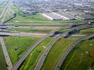 Ontario Highway 401 - Highway 401 between Highway 410 and Highway 403 in Mississauga