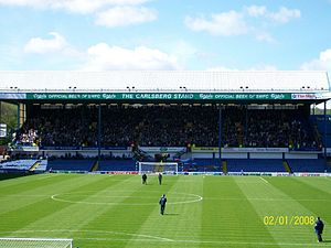 Hillsborough Stadium - Hillsborough West Stand (Leppings Lane end)