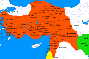 Muršili II - Hittite empire during the reign of Mursili.