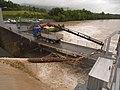 Hochwasser beim Kraftwerk Flumenthal (8935289009).jpg