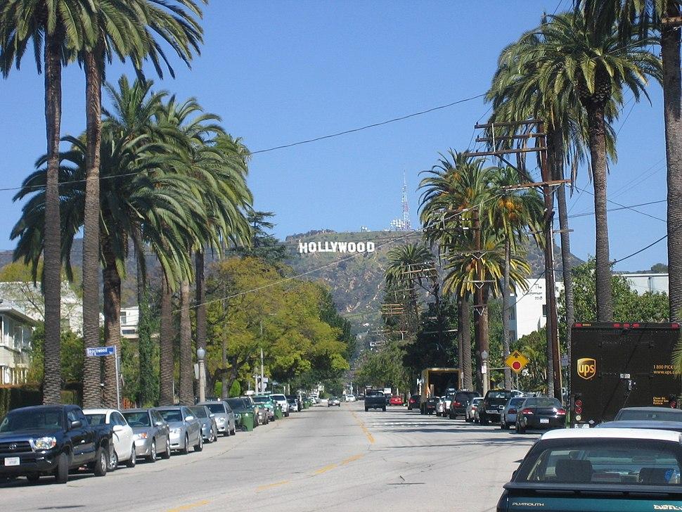 Hollywood neighborhood