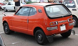 Honda Z - Image: Honda Z GT rear