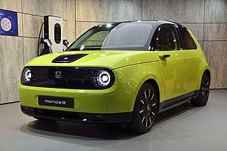 electric car model