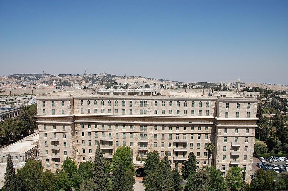 Hotel king david jeruslaem efi elian