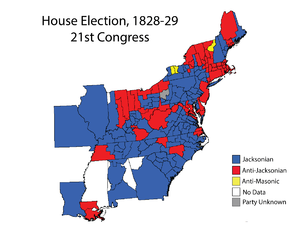 United States House of Representatives elections, 1828 - Image: House 021Elections Map