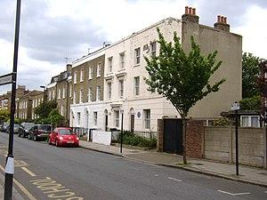 87 Hackford Road (Van Gogh) - Houses in Hackford Road, in 2016