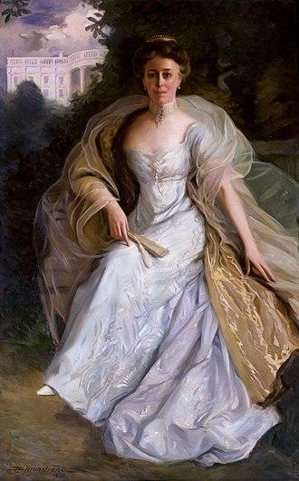 Helen Herron Taft - First Lady Helen Taft in her official White House portrait