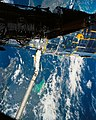 Hubble Space Telescope Deploy, Eastern Cuba, Haiti during STS-31.jpg