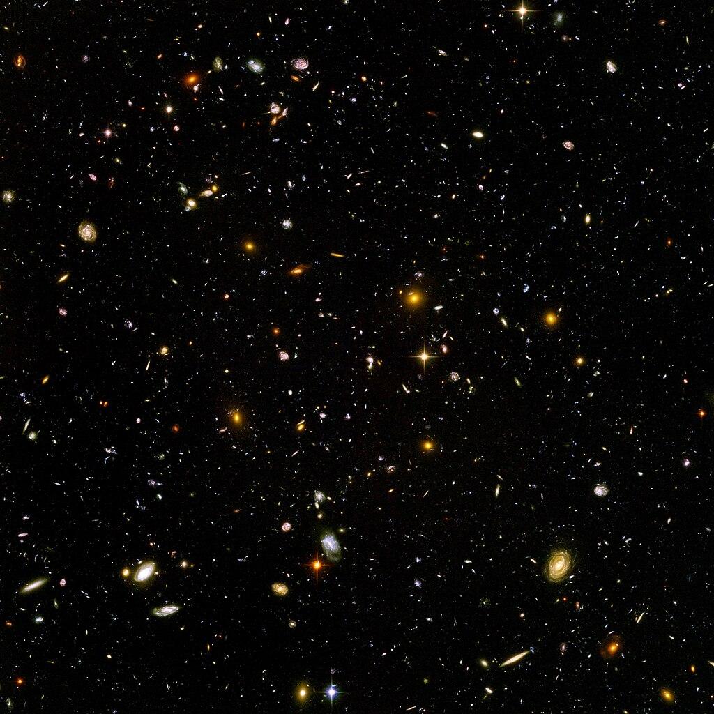Das Universum: Schach in Zahlen - Ein Vergleich
