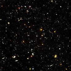Plus de 10.000 galaxies sur une seule photo, la plus lointaine jamais réalisée, appelée Hubble ultra deep field