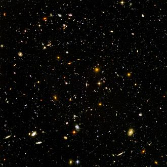 Chronology of the universe - The Hubble Ultra Deep Fields often showcase galaxies from an ancient era that tell us what the early Stelliferous Age was like.