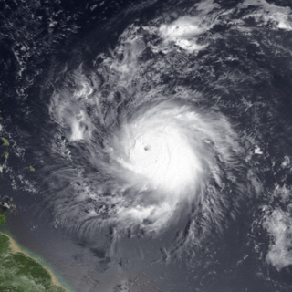 Hurricane Hugo Category 5 Atlantic hurricane in 1989