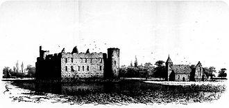 De Haar Castle - Image: Huis de Haar voor restauratie 1