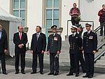 Hultqvist, Ahlin, Löfven, the King, Prince Carl Philip and Bydén - 2016.jpg