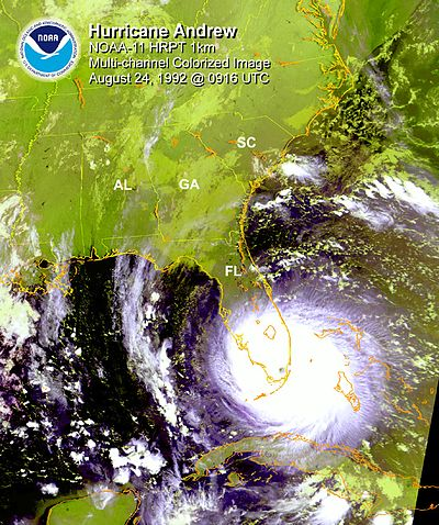 Effects of Hurricane Andrew in Florida