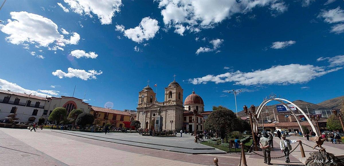Huancayo - Wikipedia