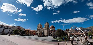 Huancayo Place in Junin, Peru
