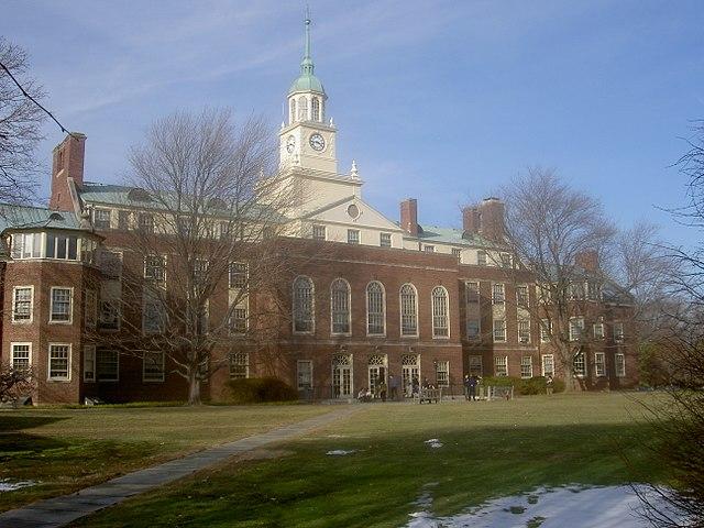 Принстон, главное здание Института перспективных исследований (Buld Hall)