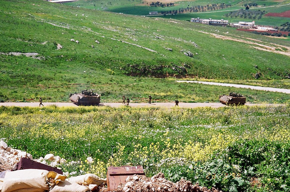 IDF military patrol near Shreife IDF military post