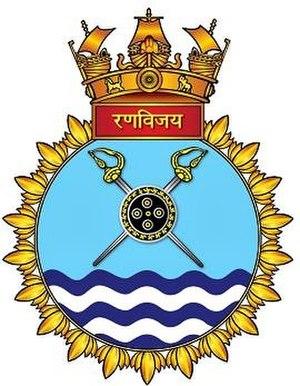 INS Ranvijay - Seal of INS Ranvijay
