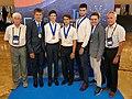 IPhO-2019 07-14 team Belarus medals.jpg