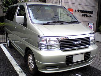 Nissan Elgrand - Isuzu Filly (Japan)