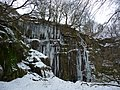 Icicles at Wood Top Delph - geograph.org.uk - 1735940.jpg