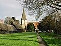 Ickham church and village green. - geograph.org.uk - 317512.jpg