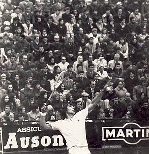 1973 Grand Prix (tennis) - Năstase won 14 titles in the year.