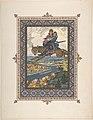 "Illustration for ""L'oiseau de Fue"" -Tsarevich Ivan with Tsarevna Elena the Fair on the Grey Wolf- MET DP804782.jpg"