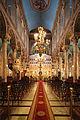 Im Inneren der griechisch-orthodoxen Kathedrale Evangelismos, Alexandria, Ägypten.jpg