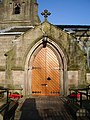 Immamuel, The Parish Church of Feniscowles, Doorway - geograph.org.uk - 638367.jpg