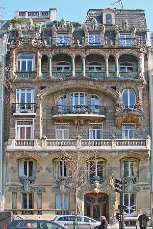 Lavirotte Building - Lavirotte Building (1901)